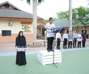 Pidato guru menyambut murid baru