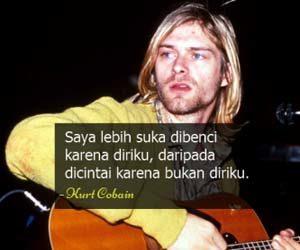 Foto kata bijak kurt cobain