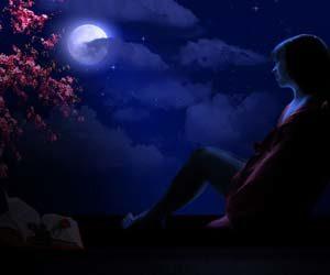 Gambar tulisan puisi malam hari