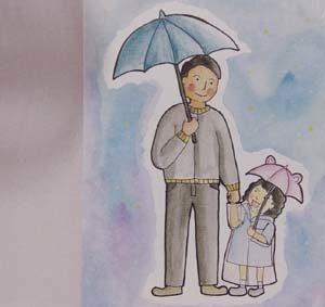 Caption ayah untuk anak perempuan