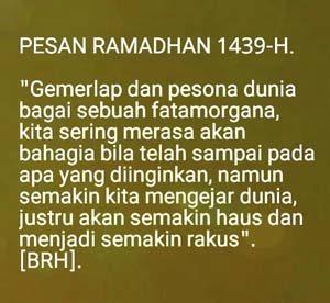 Kutbah bulan ramadhan